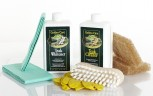 GOLDEN CARE Teak Whitener + Cleaner Holzpflegeset 8tlg.